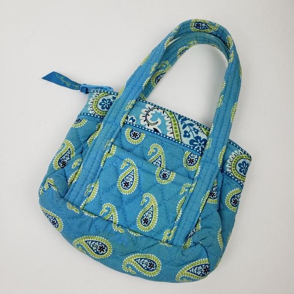 Vera Bradley blue purse